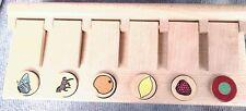 Jeu / jouet en bois pour jeunes enfants : memory