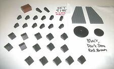 Black Roof Tile Slope 44375 43898 30355 30356 30150 4 LEGO SET 4195 8157 10194