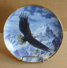 Franklin Mint On Freedom's Wing Ronald Van Ruyckevelt Porcelain Collector Plate