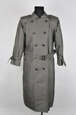 Burberry's Vintage Women Cotton Trench Coat Size 14XL, Genuine