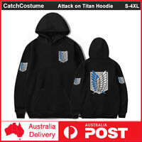 Attack on Titan Men Women Hoodie Pullover Hooded Teens Sweatshirts Jacket Coat