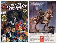 AMAZING SPIDER-MAN #333 *VENOM APPEARANCE* JAY LENO CAMEO 1st PRINT 1990 MARVEL