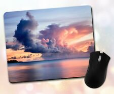 Nature ~ Sky, Sunset, Clouds, Ocean, Scenic, Gift, Decor ~ Vivid Mouse Pad