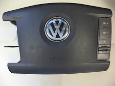 *VW PHAETON MK1 3D 02-10 4 SPOKE MULTIFUNCTION DRIVER OFFSIDE AIRBAG 3D0880201BM