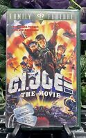 G.I. Joe: The Movie (VHS, 1991) Rare G.I. Joe Army Green Clamshell Case