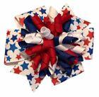 Patriotic Stars Suzie Q Korker Hair Bow