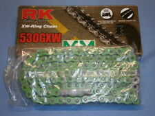 RK XW-Ring Kette 530 GXW 108 grün Motorradkette / Antriebskette / Rollenkette