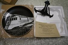 "NEW IN BOX 1934 ""PIONEER ZEPHYR"" 2004 BNSF INJURY FREE COLLECTOR PLATE 16746/45K"