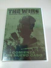 THE WIRE Segunda T2 COMPLETA - 5 X DVD Español Ingles