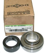 "UP TO 4 NEW DODGE 131438 1"" INSERT COLLAR BEARINGS INS-SXV-100"