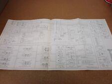 1978 ford fairmont mercury zephyr wiring diagram schematic sheet service  manual