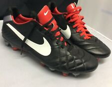 NEW NIKE SOCCER CLEATS TIEMPO LEGEND IV SG-PRO SIZE  9 US 509041 010
