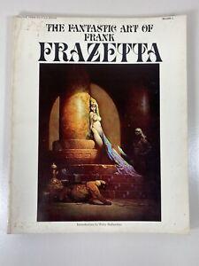 The Fantastic Art Of Frank Frazetta Book One - Paperback