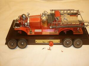 A Franklin mint scale model of a 1922 Ahren's Fox R-K-4, SOLD for spare parts
