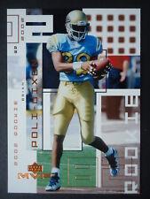 NFL 297 Brian poli-Dixon San Diego Chargers rookie upper Deck Mvp 2002