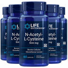 Life Extension N-Acetyl Cysteine (NAC) 600mg 60 caps [5 bottle pack]