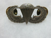 US Army Airborne Paratrooper Parachutist Jump Wings Badge Pin Vintage
