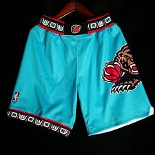 100% Authentic Mitchell & Ness Grizzlies NBA Shorts Size L 44 - Reeves Bibby