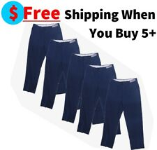 Used Navy Blue Uniform Work Pants Cintas, Unifirst, Dickies, Redkap ect