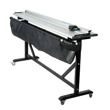 "40"" Aluminum Alloy Rotary Large Format Paper Trimmer Cutter + Support Stand"