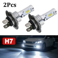 H7 LED Headlight Bulbs Conversion Kit Super High/Low Beam 8000 LM 6000K White