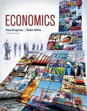 Economics by Paul Krugman and Robin Wells (2015, Hardcover, Revised)