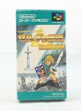 The Legend of Zelda A Link to the Past Super Famicom  Japan Import NA Seller CIB