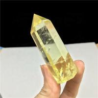50-60mm Natural Smoky Citrine Crystal Point Wand Quartz Obelisk Stone Healing US