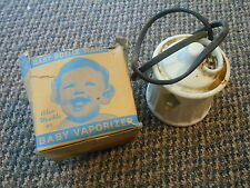 Old Vintage Baby Bottle Warmer Vaporizer & Original Box Hankscraft Auto Electric