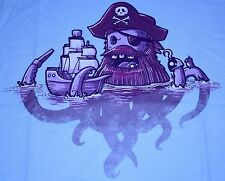 """ARRRctopus"" Pirates of the Caribbean Parody Women's Small Shirt Teevillain"