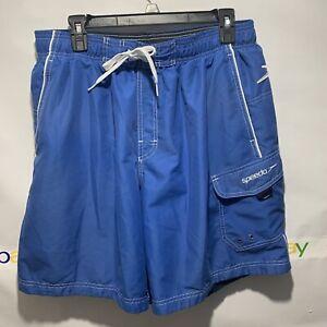 Speedo Blue Swimming TrunksShorts 7840260 Size Large