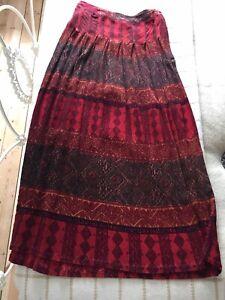vintage indian cotton skirt Phool