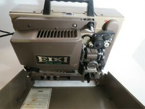 TESTED Eiki SNT-0 3585 Slim Line 16mm Auto Load Film Projector