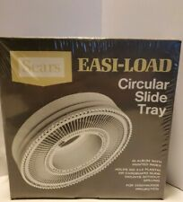 Circular Slide Tray SEARS Easi-Load 100 2x2 Slide Capacity #9985 NEW Sealed Vtg