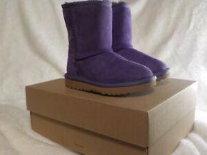 UGG Kids Classic Short Boot - 1017703T - Violet Bloom / Purple - Toddler Size 9C