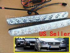 Car 0009 LED DRL Daytime Running Day LED light Driving Daytime Running Fog Light