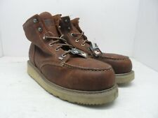 TIMBERLAND PRO Men's BARSTOW WEDGE Soft Toe WORK BOOTS 88559 Brown 12M