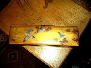Lacquer Box...truly  lovely