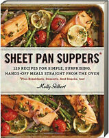Sheet Pan Suppers by Molly Gilbert (Paperback) New w/ remainder mark*