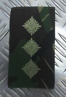 Genuine British Army Woodland Camo CAPTAIN Rank Slide / Epaulette - NEW