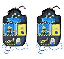 2x Auto-Spielzeugtasche MINION Rücksitztasche Spielzeugtasche Rückenlehnentasche