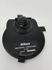 Nikon Microscope Universal Condenser C-CU