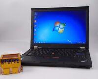 "Lenovo ThinkPad T410 14"" i5-M520 2.4GHz 2GB RAM 160GB HDD Win 7 Pro(BIOS Locked)"