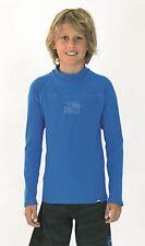 CARVE BOYS SIZE 14 OCEAN BLUE NEMESIS THERMAL L/S RASHIE