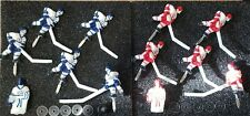 Super Chexx & Pro Bubble Dome Hockey Complete Blue / Red Team Kits -Player Sets!