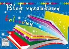 Poligraf Blok rysunkowy A3 kolorowy