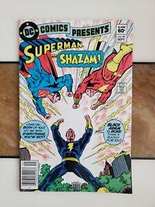 DC Comics Presents #49 NM Rare Newsstand Variant Shazam & 2nd Black Adam App