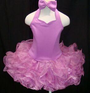 National Pageant Dress Shell Halter Sz XS, S, M, L Lvd.