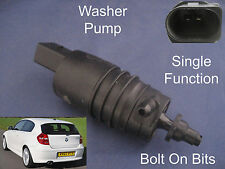 Front or Rear Windscreen Washer Pump BMW 1 Series 2004 to 2012