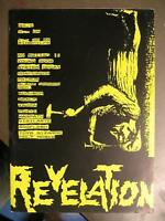 REVELATION NR. 4 - HEAVY METAL FANZINE